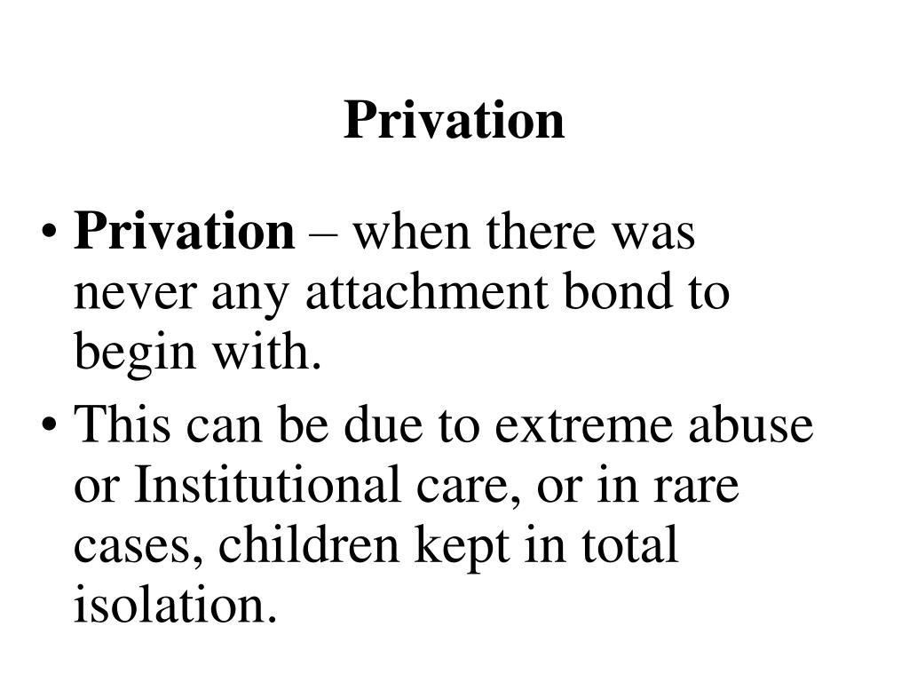 Privation