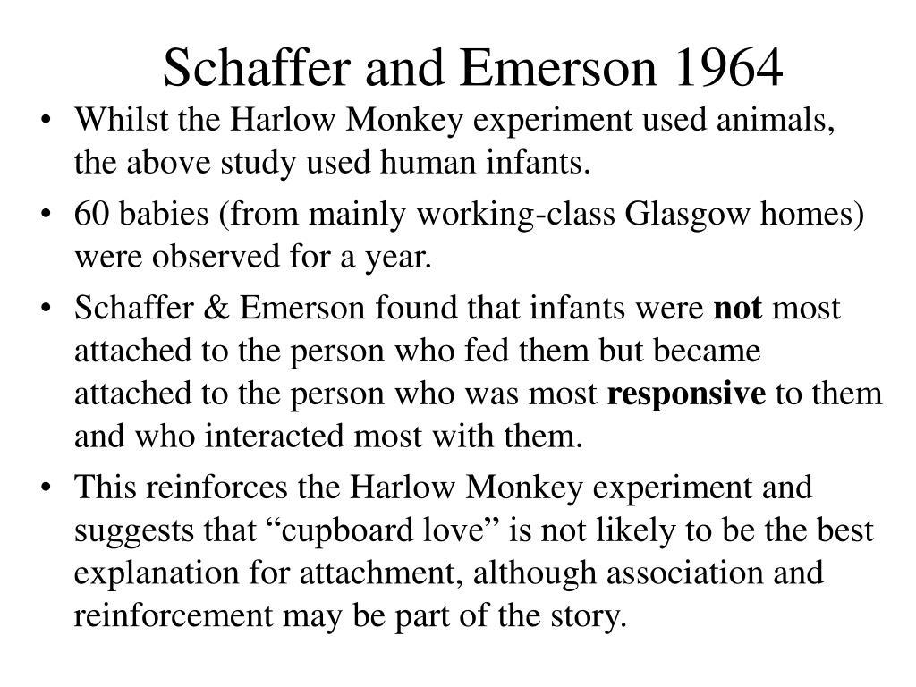 Schaffer and Emerson 1964