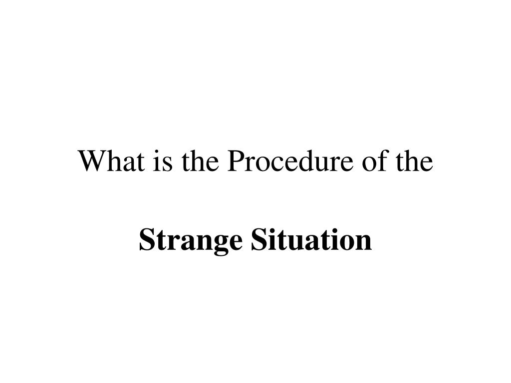 What is the Procedure of the