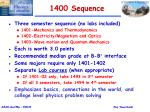 1400 sequence