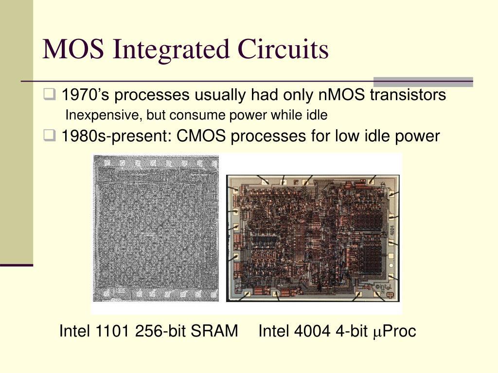 MOS Integrated Circuits