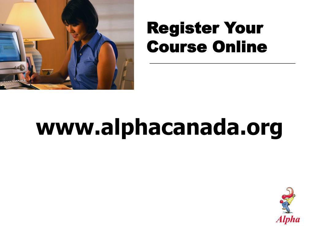 Register Your Course Online
