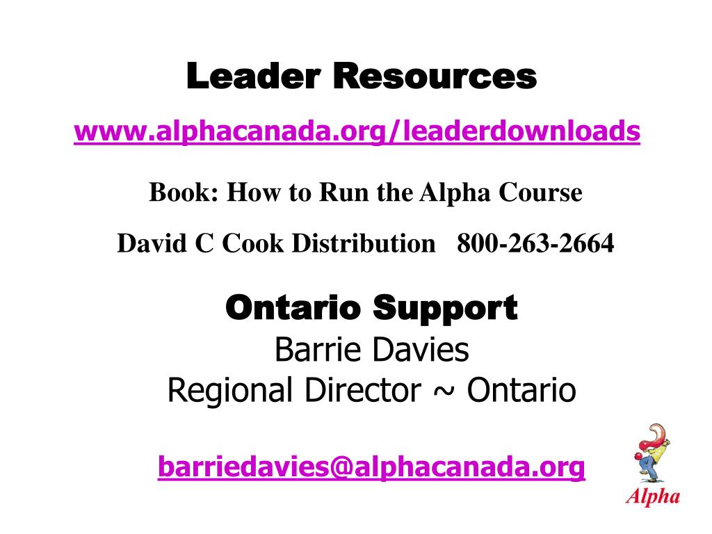 Leader Resources