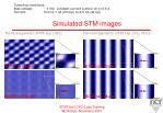 simulated stm images