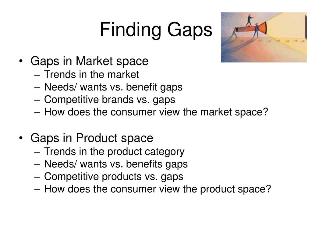 Finding Gaps