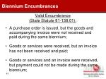 valid encumbrance state statute 81 138 01