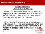 valid encumbrance state statute 81 138 0144