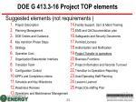 doe g 413 3 16 project top elements