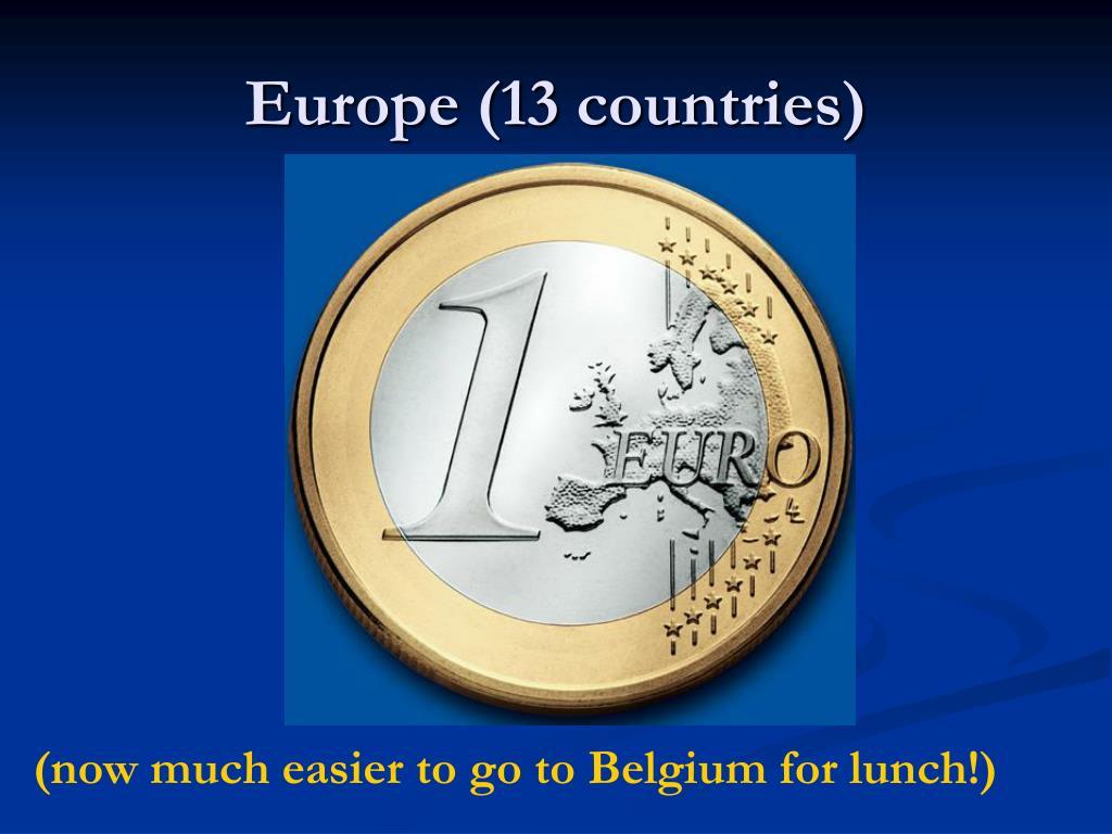 Europe (13 countries)