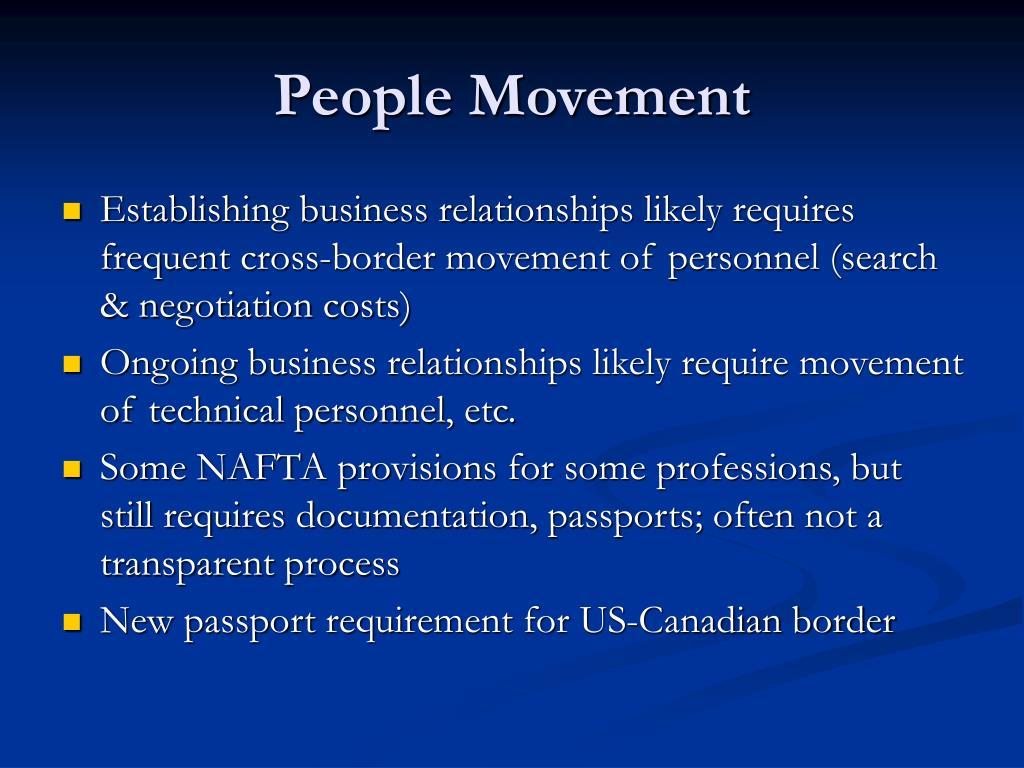 People Movement