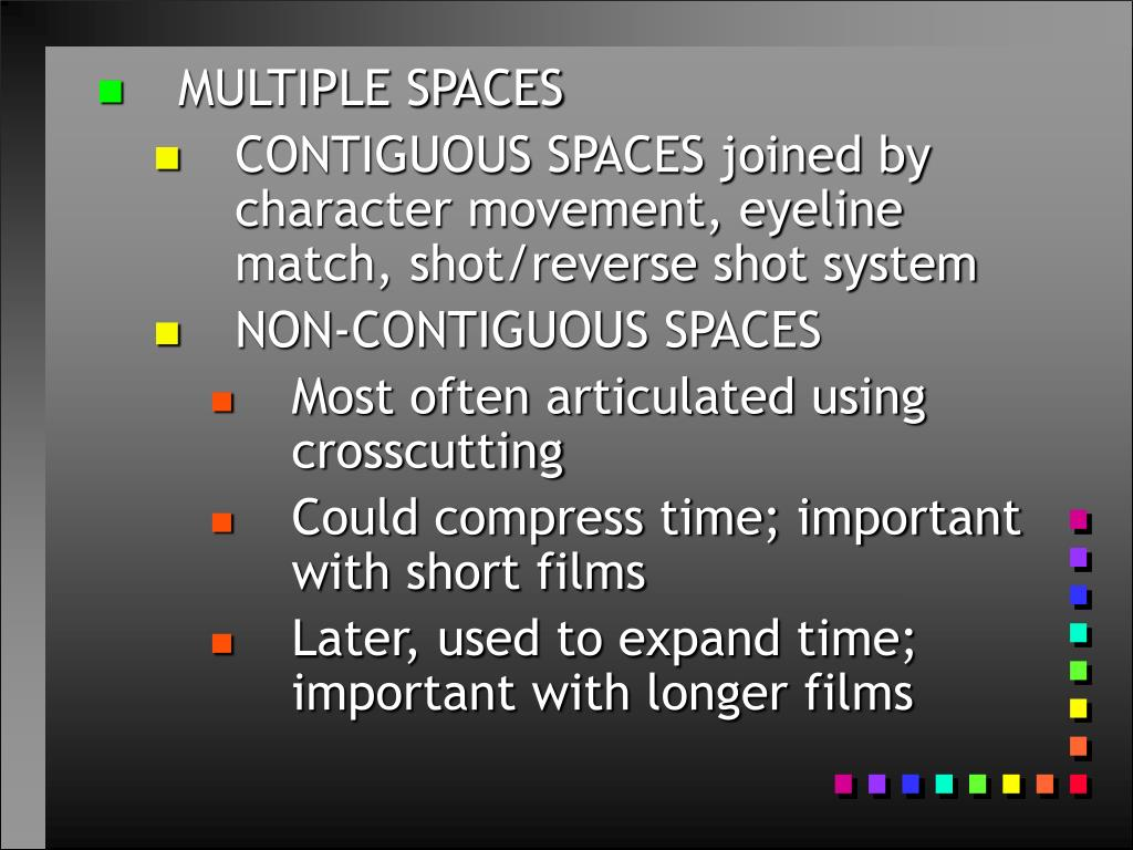 MULTIPLE SPACES