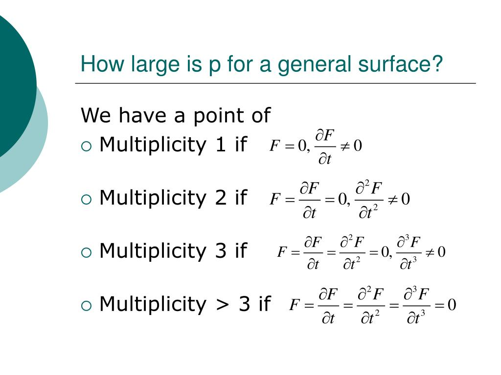 How large is p for a general surface?