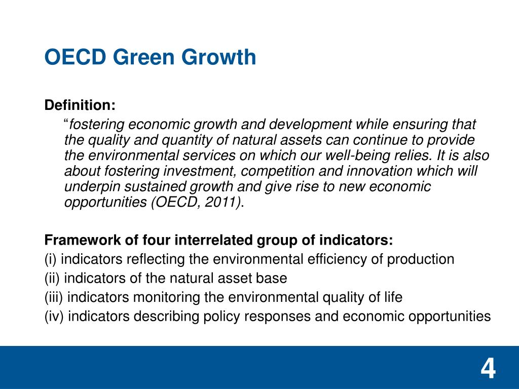 OECD Green Growth