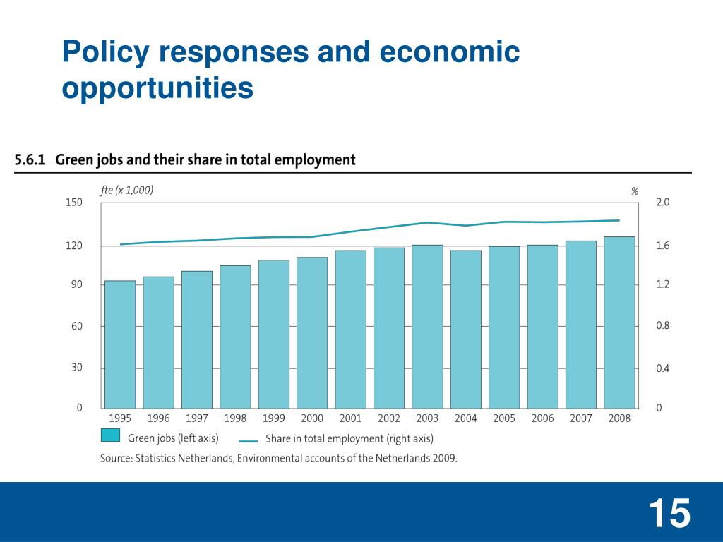 Policy responses and economic opportunities