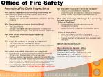 office of fire safety8