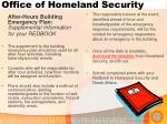 office of homeland security4