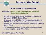 terms of the permit52
