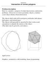 intersection intersection of convex polygons