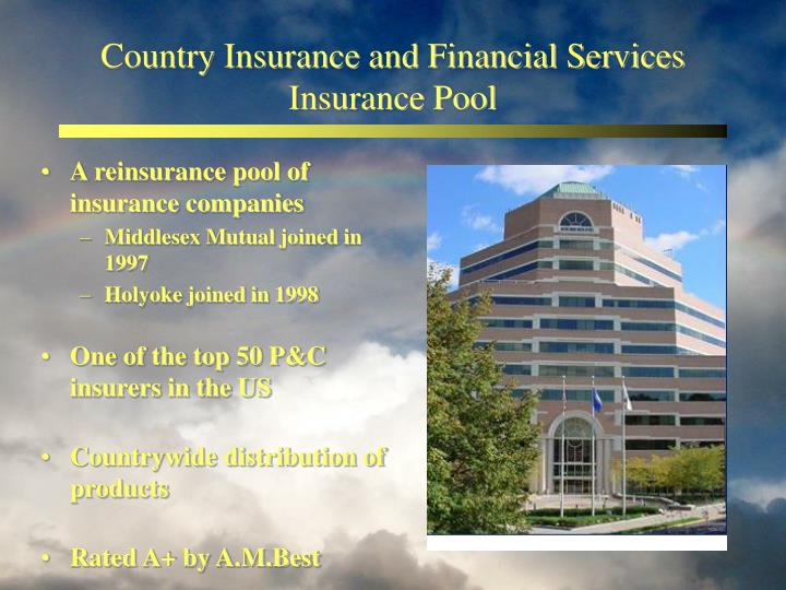 Country insurance and financial services insurance pool
