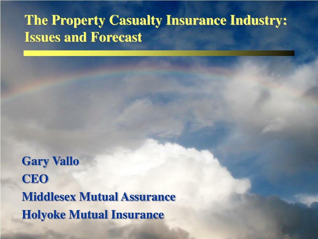 The Property Casualty Insurance Industry: