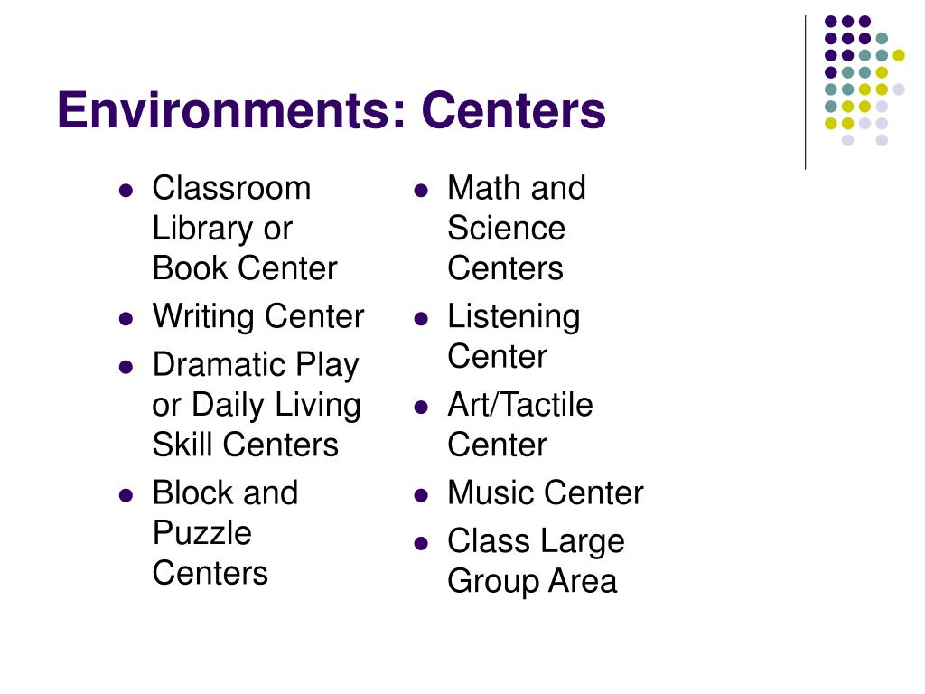 Classroom Library or Book Center