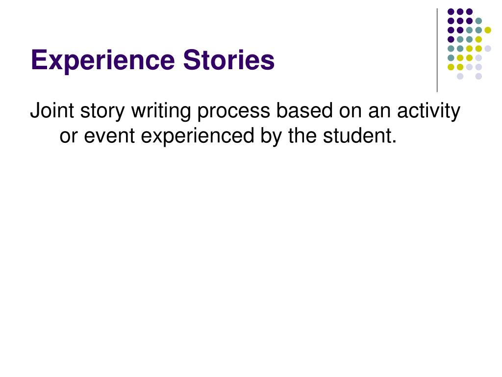 Experience Stories