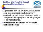 enabling life potential through vocational rehabilitation22
