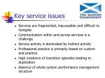 key service issues