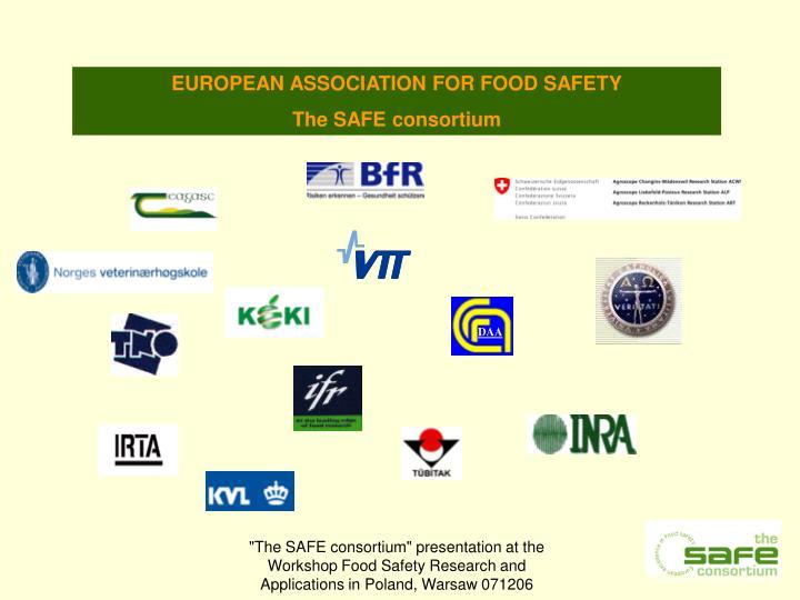 EUROPEAN ASSOCIATION FOR FOOD SAFETY