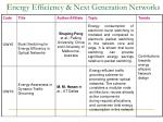 energy efficiency next generation networks13
