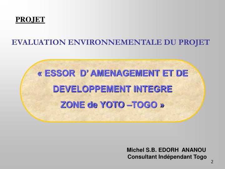 Essor d amenagement et de developpement integre zone de yoto togo