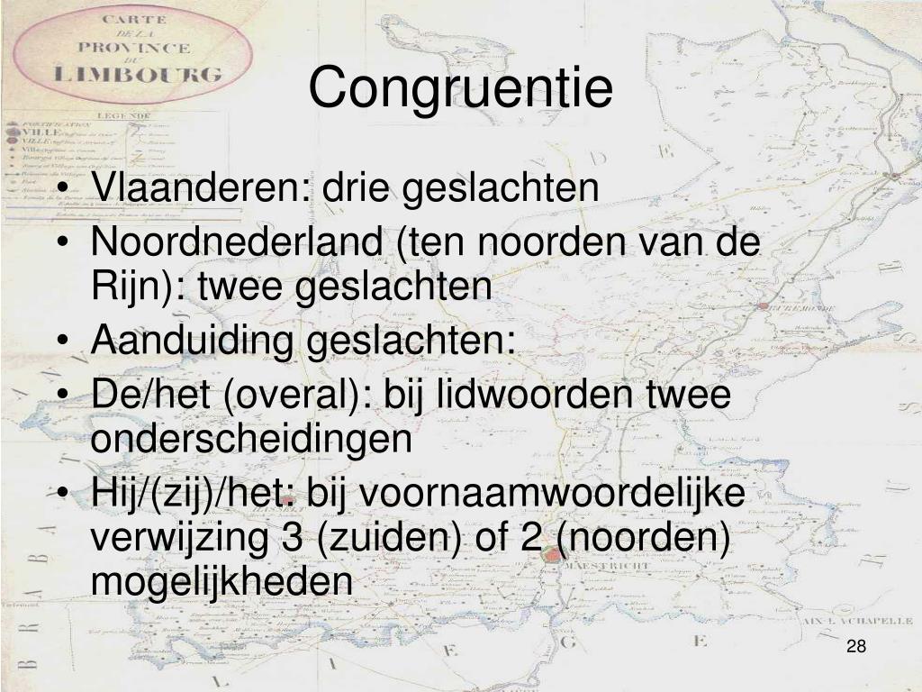 Congruentie