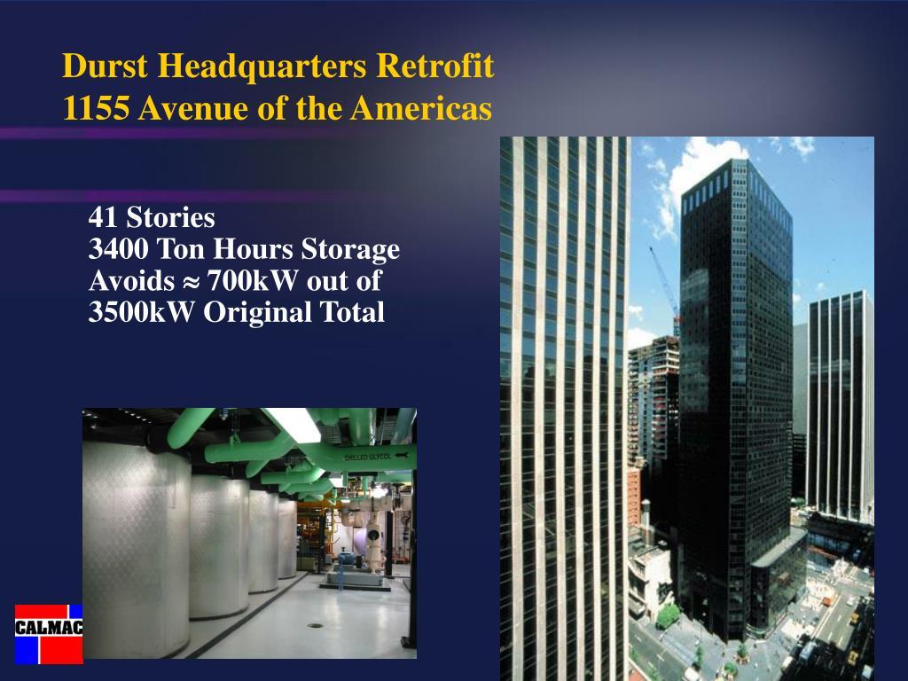 Durst Headquarters Retrofit