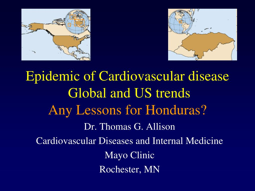 Epidemic of Cardiovascular disease