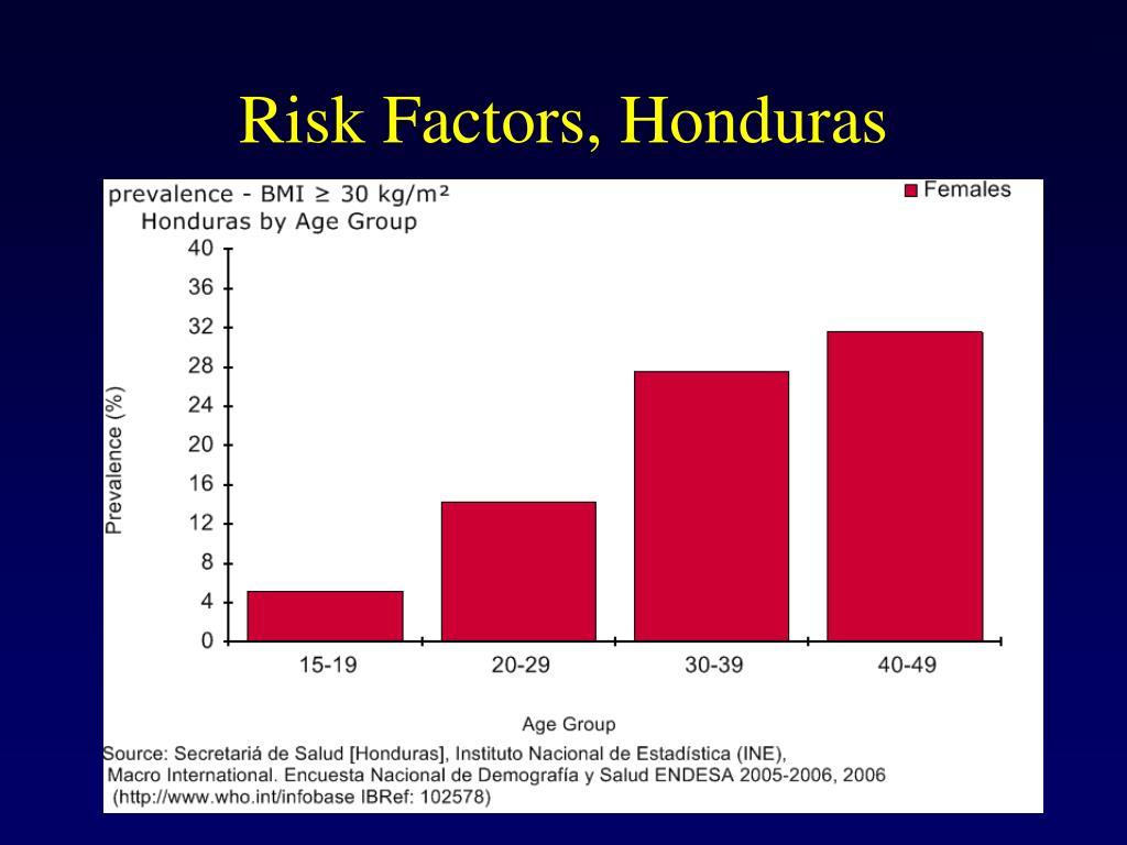 Risk Factors, Honduras