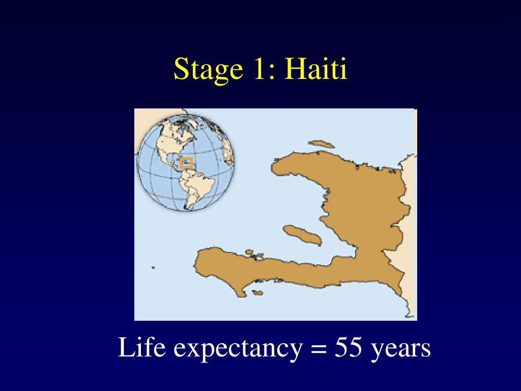 Stage 1: Haiti