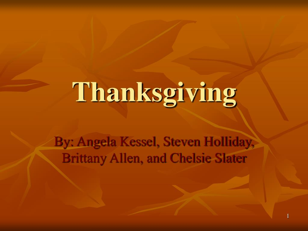 thanksgiving l.