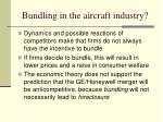 bundling in the aircraft industry