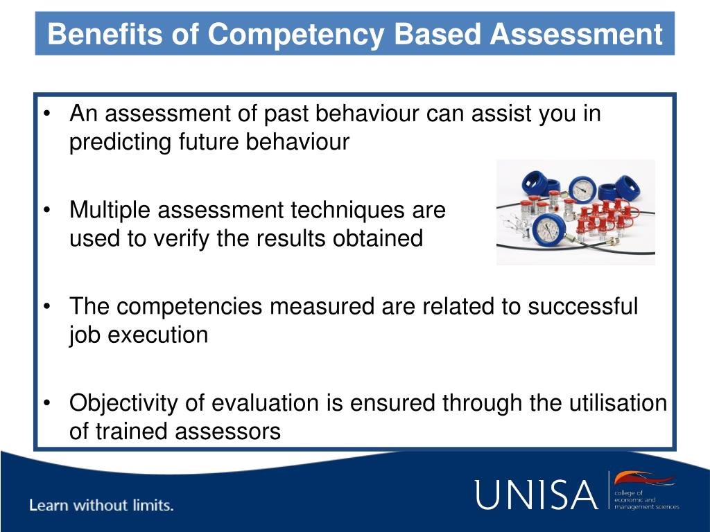 Benefits of Competency Based Assessment