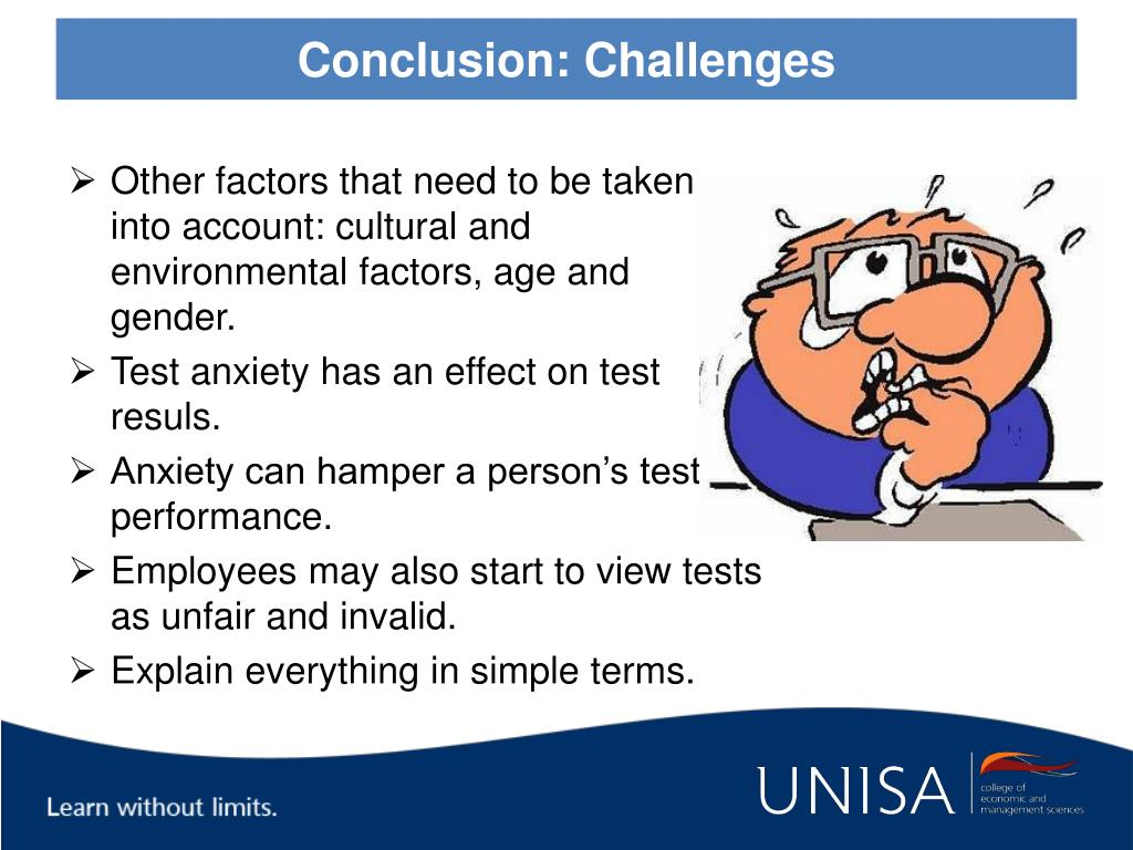 Conclusion: Challenges