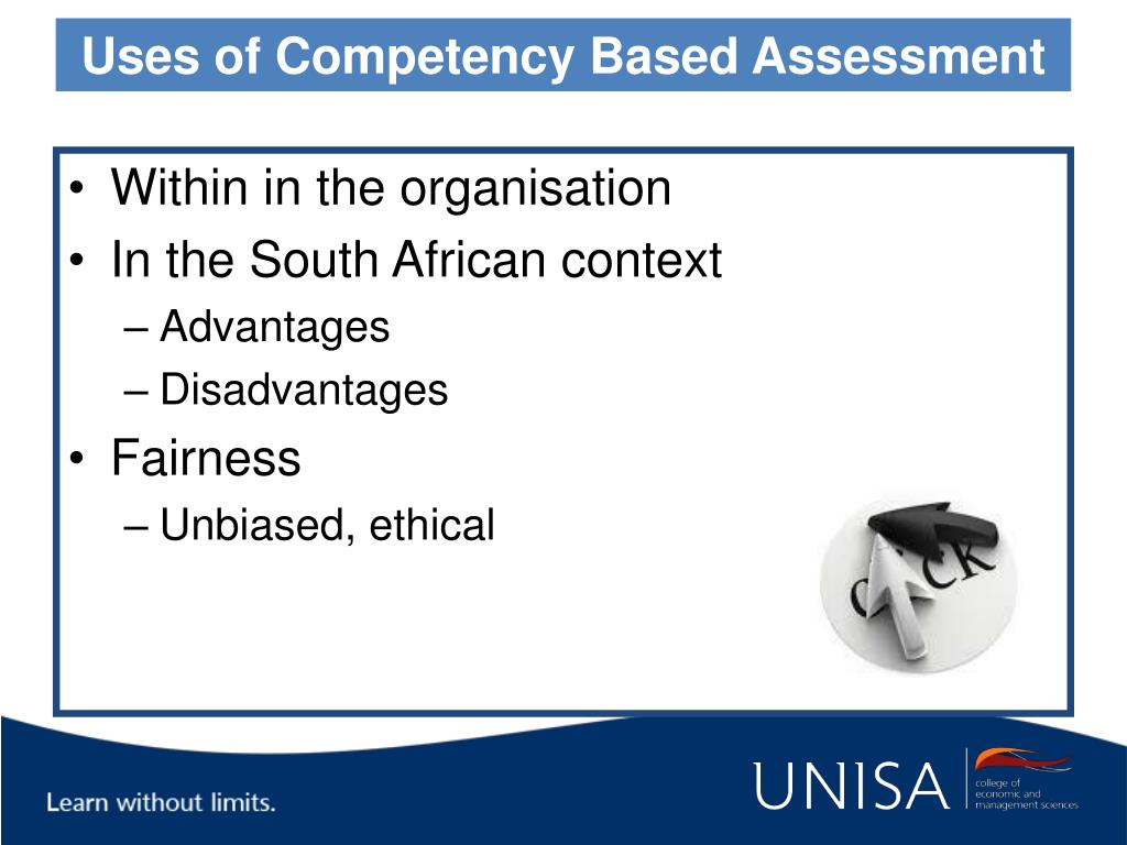 Uses of Competency Based Assessment