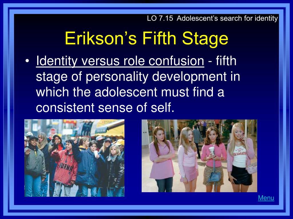 LO 7.15  Adolescent's search for identity