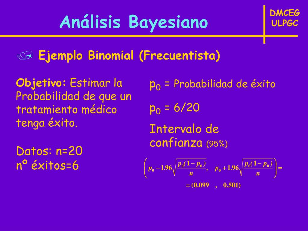 Análisis Bayesiano