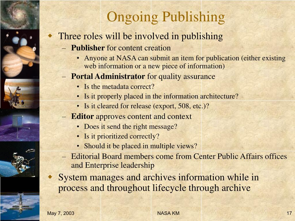 Ongoing Publishing