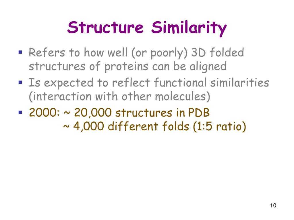 Structure Similarity