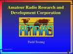 amateur radio research and development corporation
