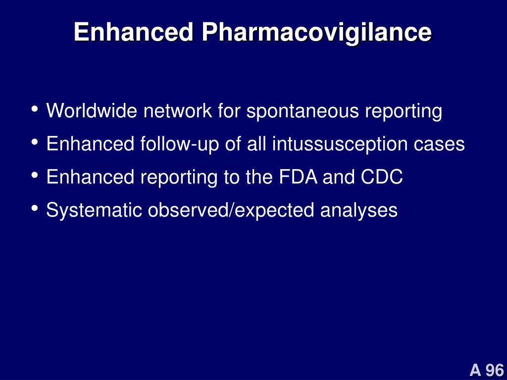 Enhanced Pharmacovigilance