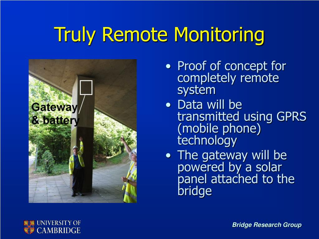 Truly Remote Monitoring