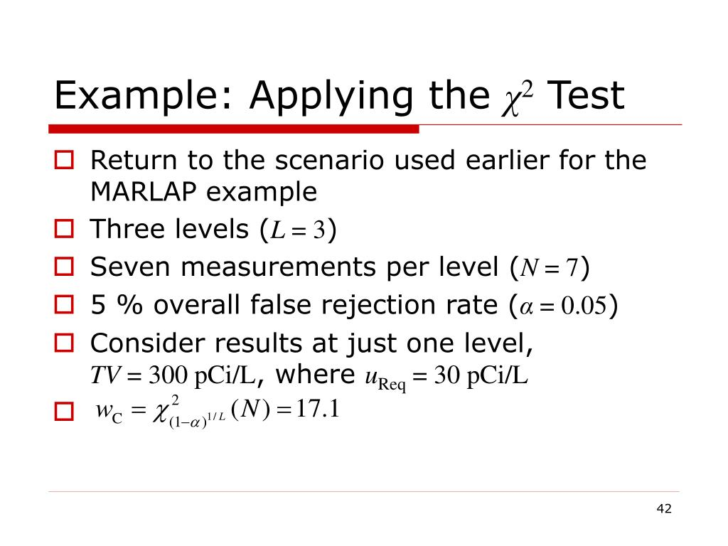 Example: Applying the