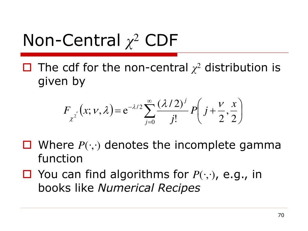 Non-Central